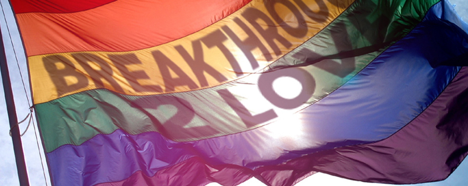 Breakthrough 2 Love Flag